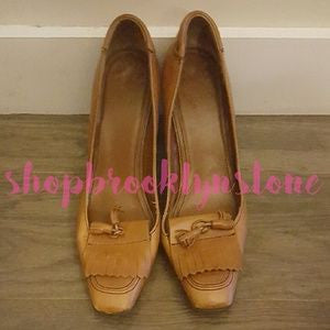 Zara Leather Tassel Loafer Pumps-SALE!!