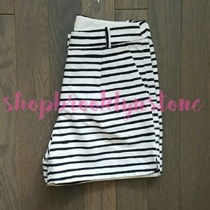 J Crew Striped Dolphin Hem Shorts-SALE!!