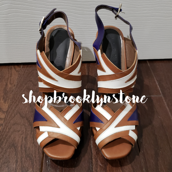 Marni Leather Platform Sandals - SALE!!