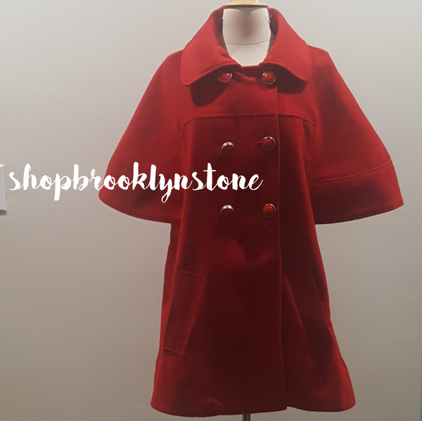 Red Cape Jacket - SALE!!