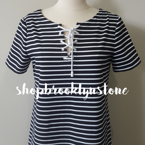 Nautical Stripe Dress - SALE!!