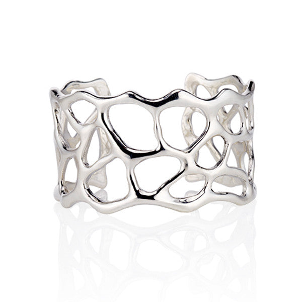 Bright White Anguilla Cuff