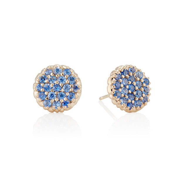 Montana Pave Nailhead Earrings