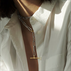 Long-Link Gold Toggle Chain