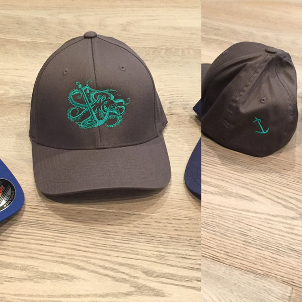 Octopus and Anchor Hat