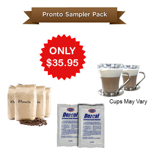 Coffee Beans Pronto Coffee Sampler Pack
