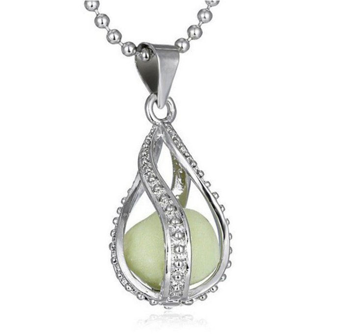 Water Drop Locket Necklace