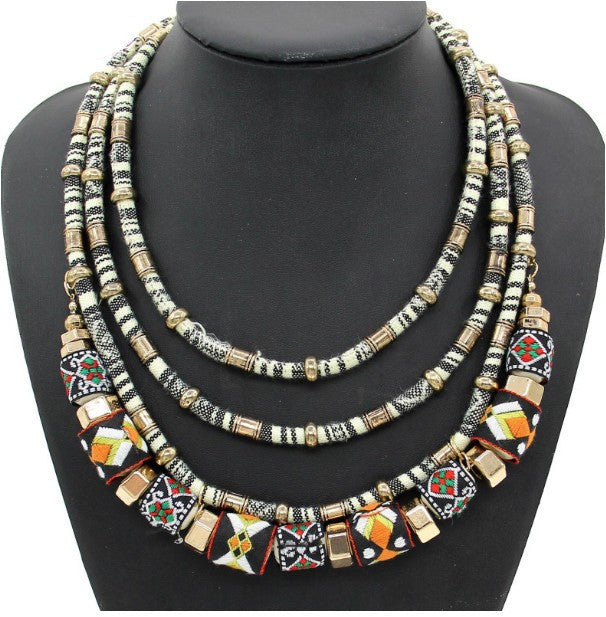 Chains Ball Handmade Collar Maxi Necklaces