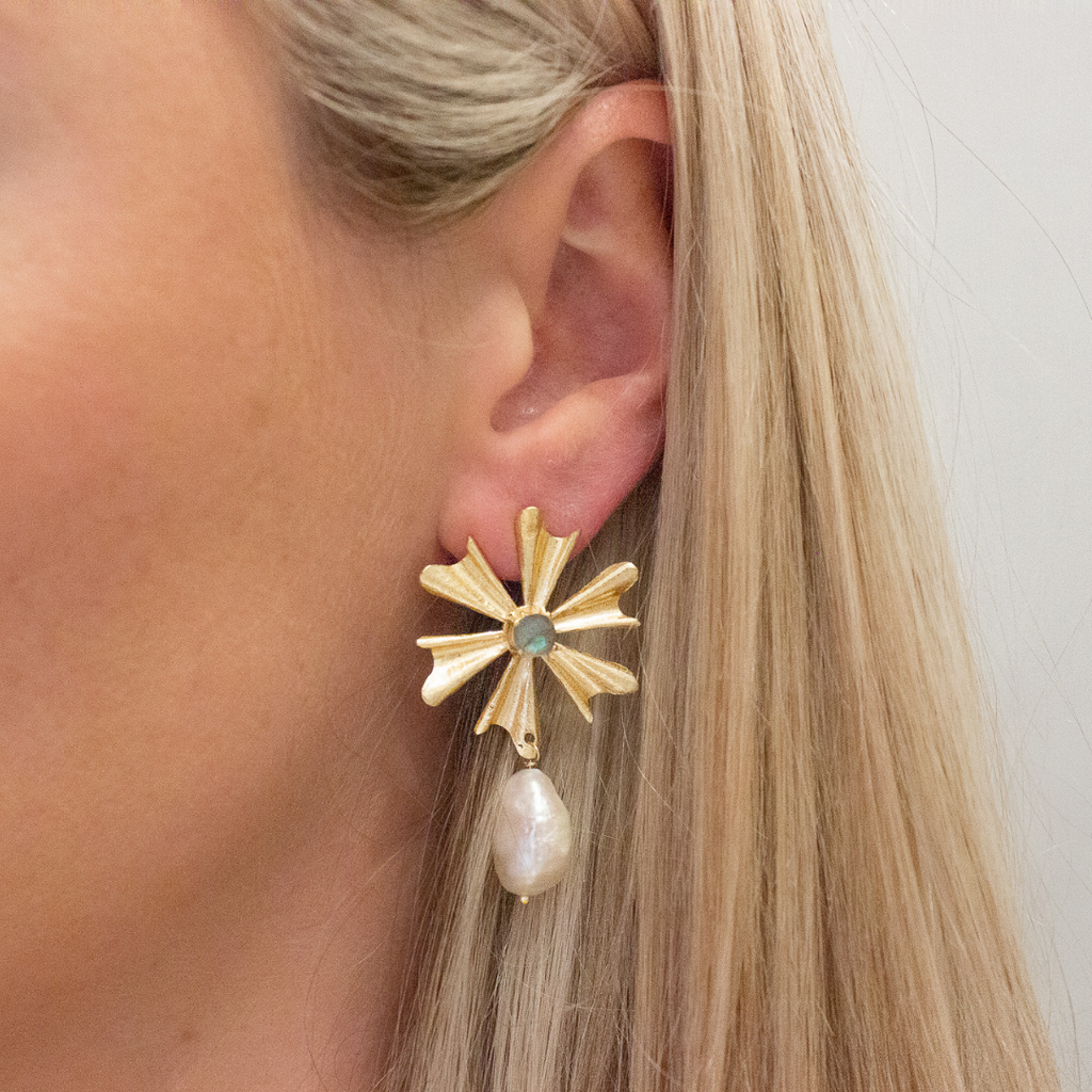 Amelia Earring | Moonstone