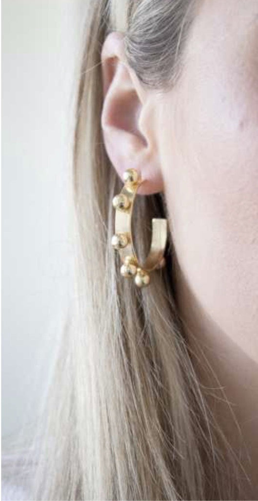 Jamie Hoop Earrings | Small