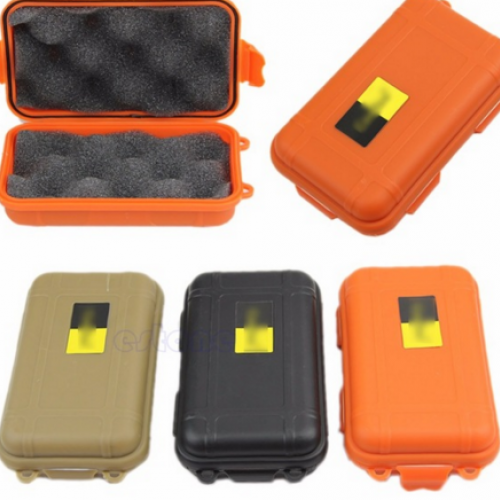 Container Storage Carry Box - Outdoor Plastic Waterproof Airtight Survival Case | At Camping