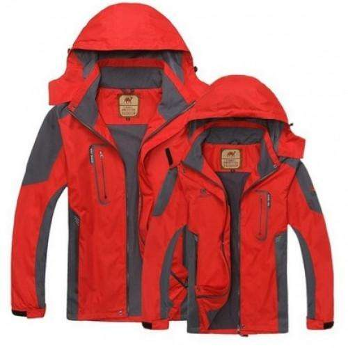 Authentic Outdoor Mountaineering Jacket | At Camping
