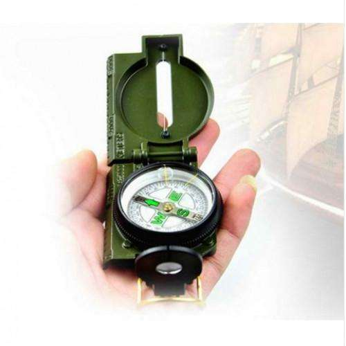 Camping Marching Lensatic Compass Magnifier
