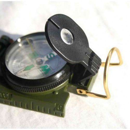 Camping Marching Lensatic Compass Magnifier | At Camping
