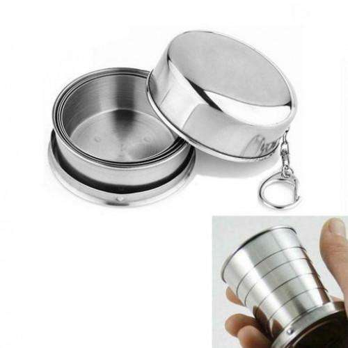 Outdoor Mug Portable Collapsible Cup | At Camping