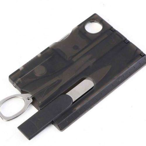 Card Knife LED Light Magnifier Camping Kit Set | At Camping