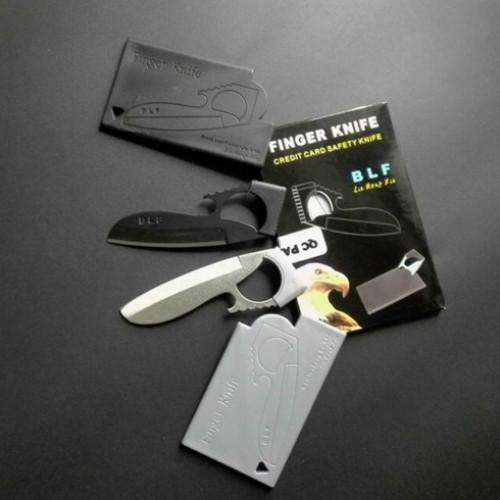 Mini Carabiner Card Knife with EDC Multi Function Opener Tool | At Camping