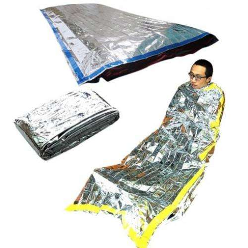 Survival Foil Thermal Sleeping Bag | At Camping