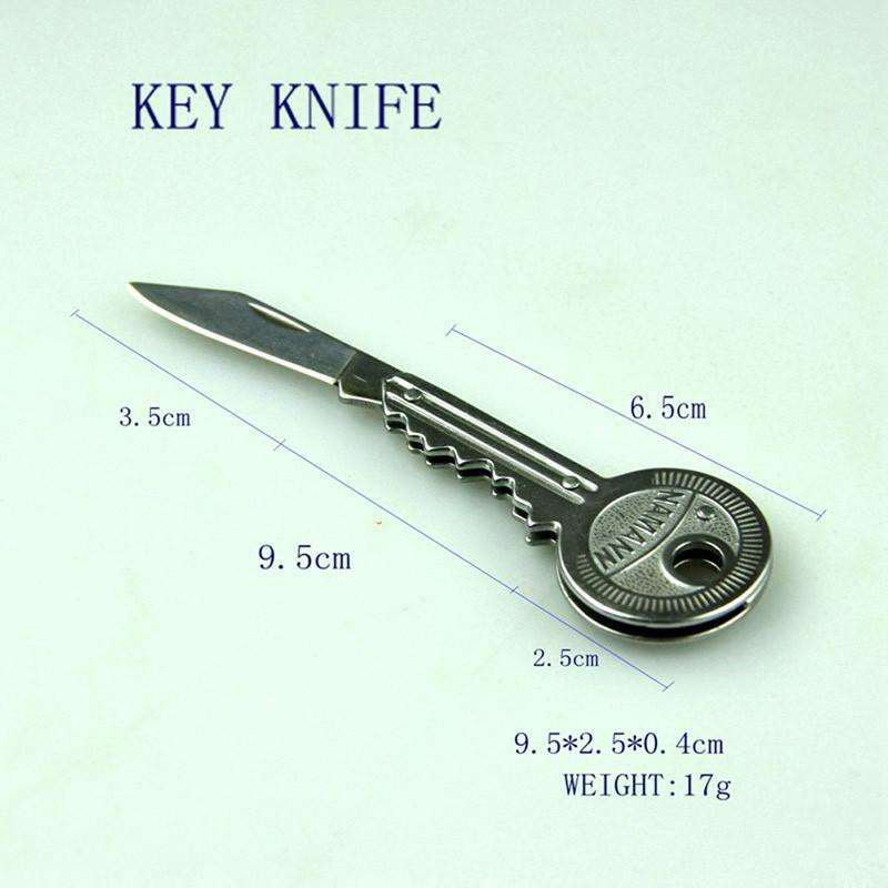 Key Ring Knife Tool - Portable Kit - Outdoor Camping - Hiking - Survival Equipment | At Camping