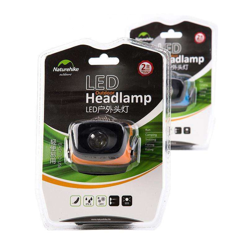 Naturehike Ultralight Outdoor LED Headlamp Camping Headlamp Waterproof NH00T001-D | At Camping