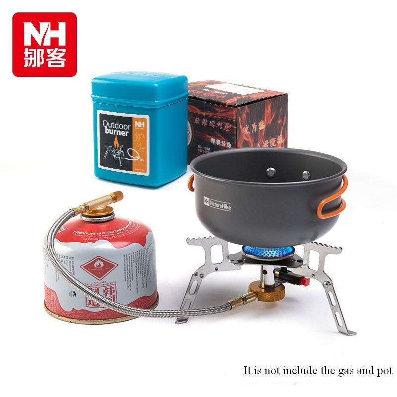 Copper Stove Cooking Furnace End Split Type Gas Burners Portable Stove Gas Camping Equipment | At Camping