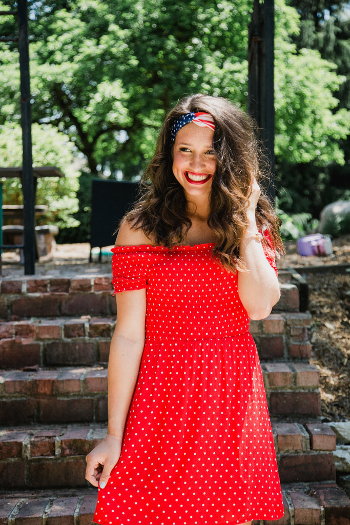 Red Polka Dot Dress