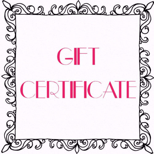 E-Gift Certificates - Urban Couture