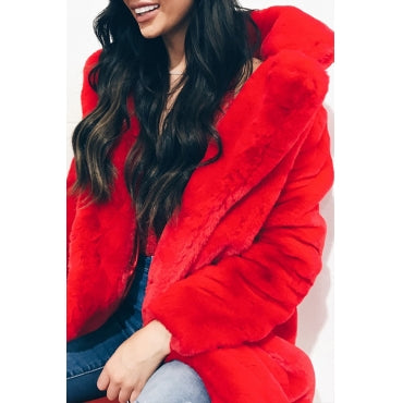The Faux Fur Mid Length Jacket