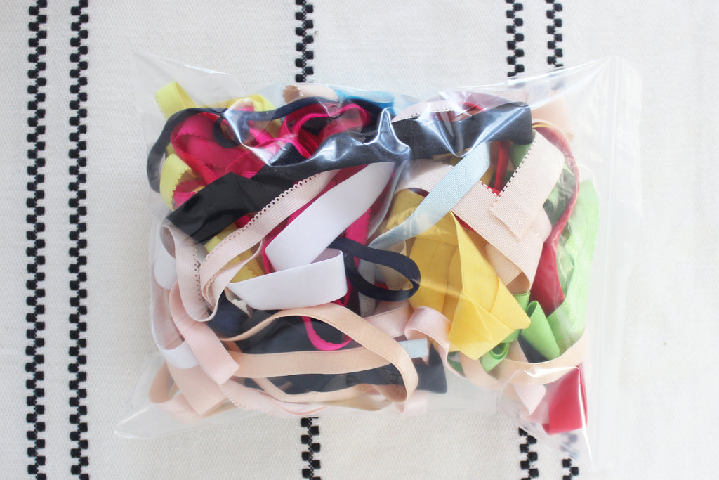 50 YDS Assorted Lingerie Elastic Grab Bag -- WHILE SUPPLIES LAST!