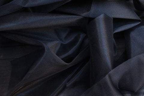 1/2 YD Black Non-Stretch Tricot Nylon - Perfect for Lining Bra Cups & Frame!
