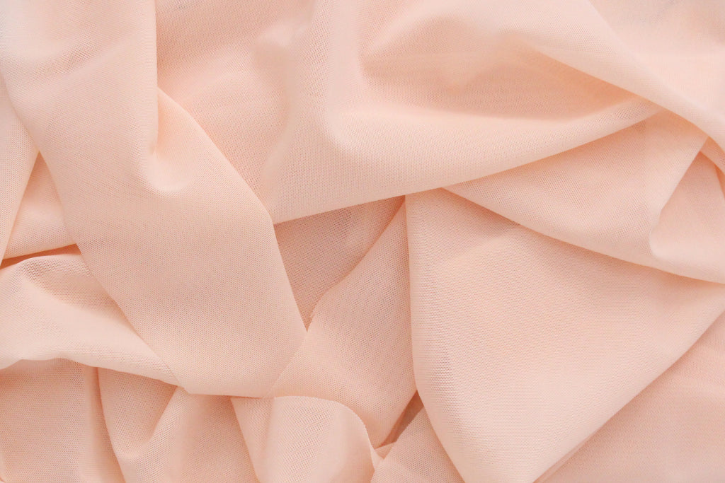 1/2 YD Blush Power Net