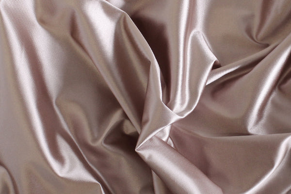 1/2 YD Dusty Mauve Shiny Lingerie Satin Bra Making Cups & Frame Fabric - LIMITED EDITION!