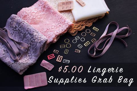 HOT DEAL! Five Dollars Lingerie Supplies Grab Bag