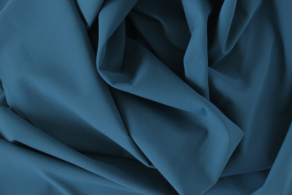 1/2 YD Blue Gray Activewear Sport Lycra Nylon Spandex Wicking Fabric