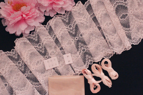 DIY Soft Bra Kit Heavenly Pink Peach