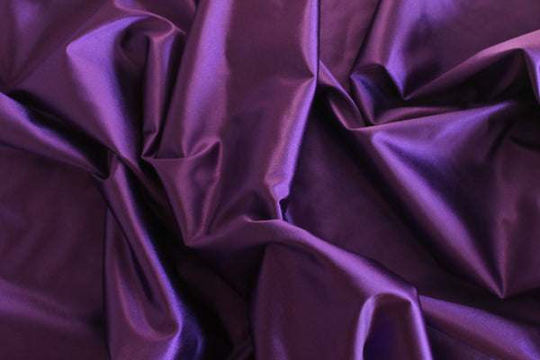 1/2 YD Magician's Purple Shiny Lingerie Satin Bra Making Cups & Frame Fabric - LIMITED EDITION!