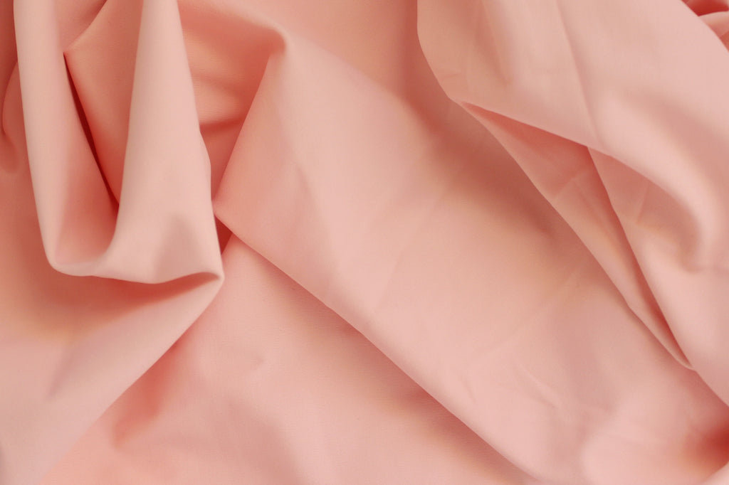 1/2 YD Peachy Coral Activewear Sport Lycra Nylon Spandex Wicking Fabric