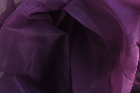 1/2 YD Plum Purple Sheer Cup Lining Bra Making