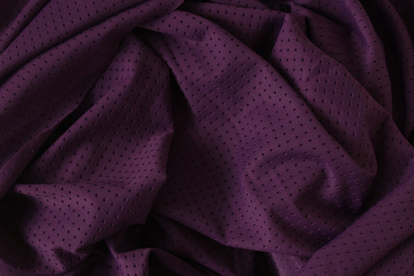 1/2 YD Purple Passion Athletic Mesh Activewear Nylon Spandex Fabric
