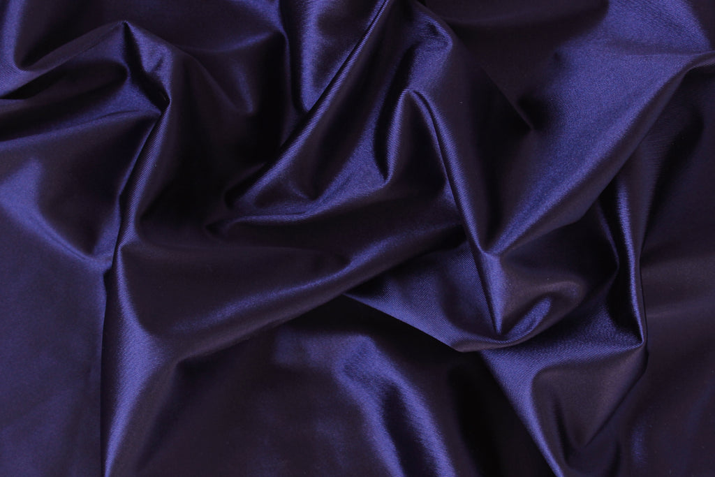 1/2 YD Royal Purple Shiny Lingerie Satin Bra Making Cups & Frame Fabric - LIMITED EDITION!