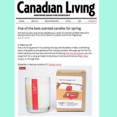 Best Scented Candles for Spring - Canadian Living
