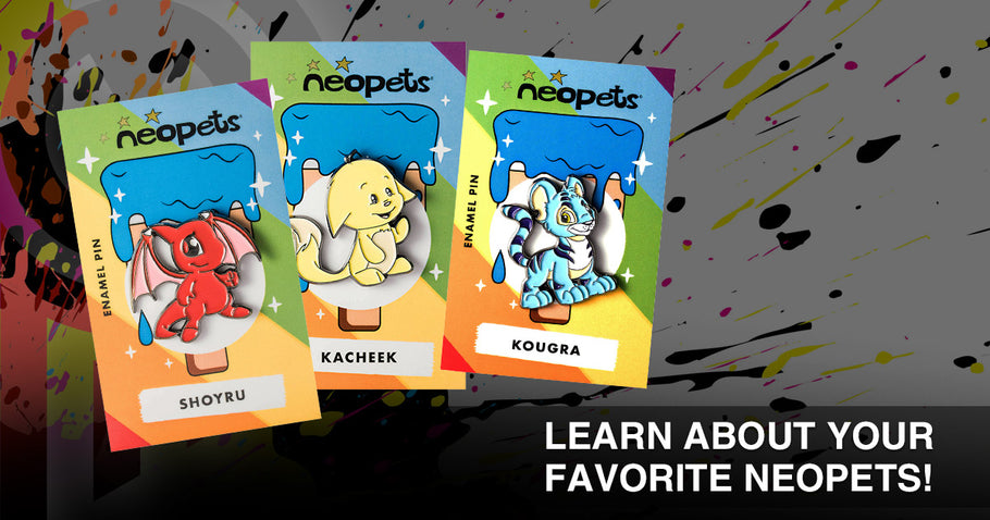 Learn About Your Favorite Neopets!