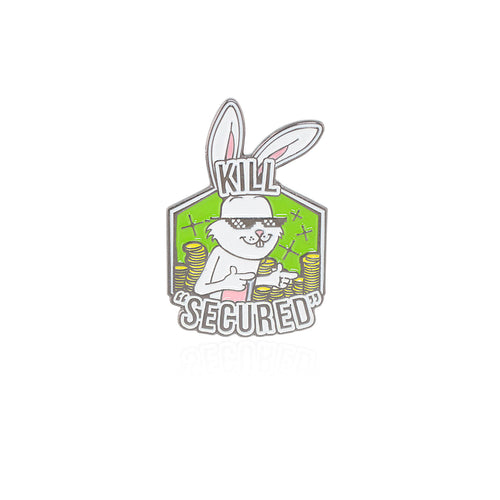 Kill Secured Bronze Bunny Pin