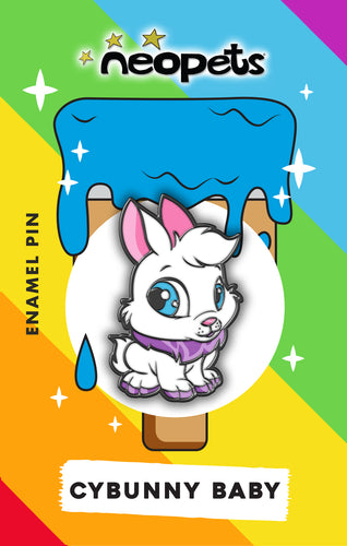 Neopets Baby Cybunny Pin **Pre-Sale**