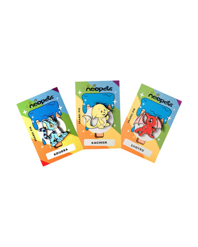 Neopets Pin Set