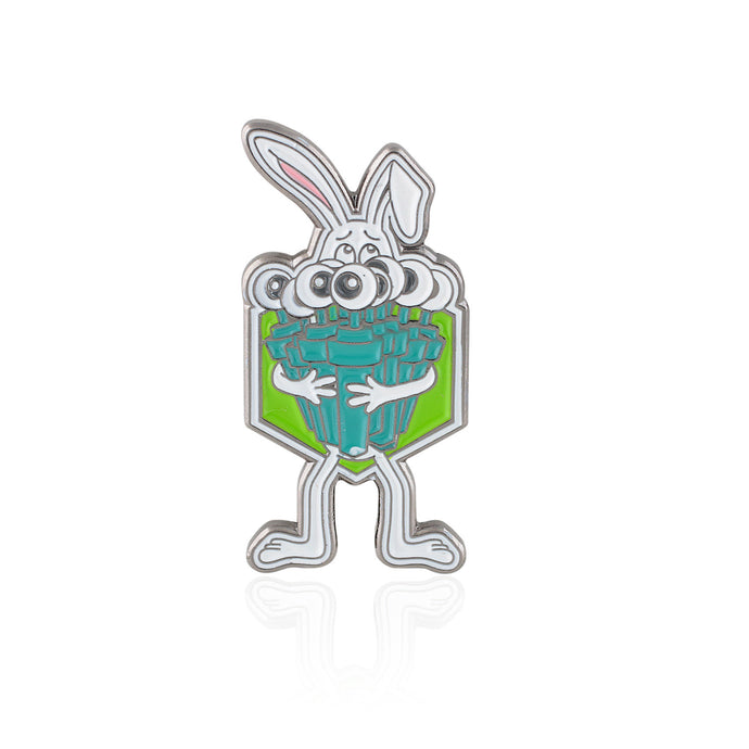 Support Life Bronze Bunny Pin