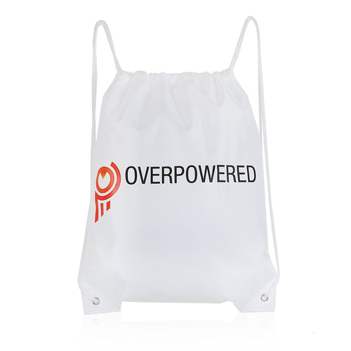 Overpowered OP Drawstring Bag