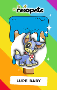 Neopets Baby Lupe Pin **Pre-Sale**