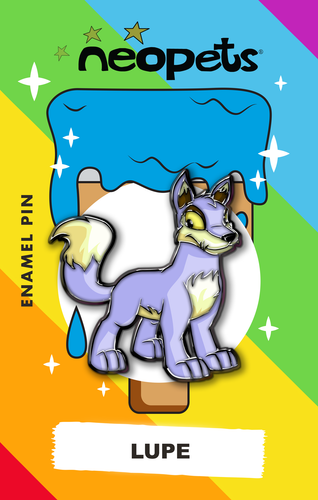 Neopets Lupe Pin **Pre-sale**
