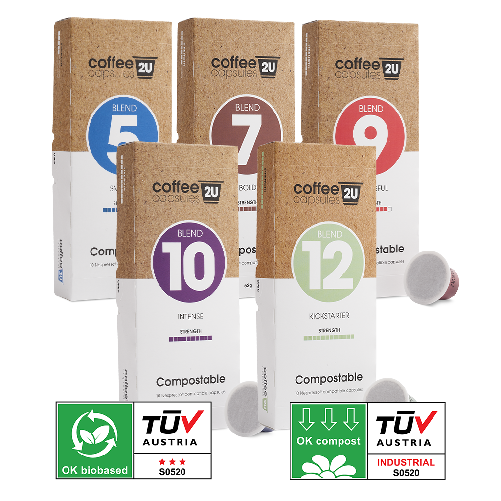 Compostable Sampler Pack: 50 Capsules $29.95